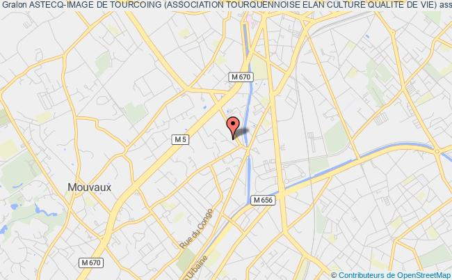 plan association Astecq-image De Tourcoing (association Tourquennoise Elan Culture Qualite De Vie)