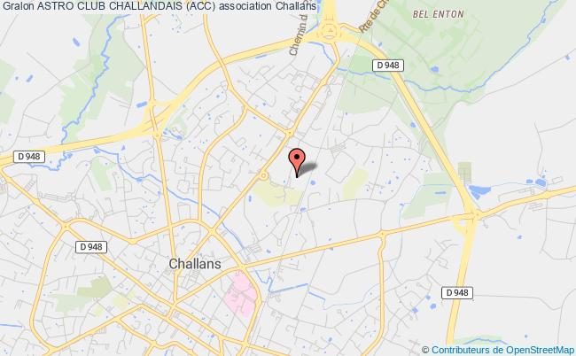 plan association Astro Club Challandais (acc)