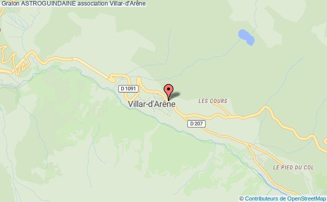 plan association Astroguindaine Villar-d'Arène