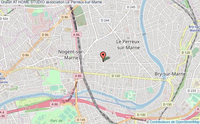 plan association At Home Studio Le    Perreux-sur-Marne