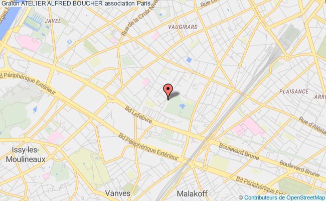 plan association Atelier Alfred Boucher