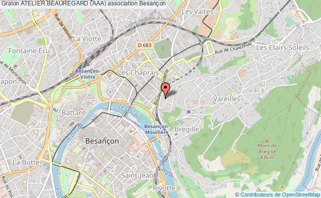 plan association Atelier Beauregard (aaa)