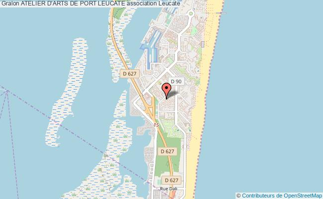 plan association Atelier D'arts De Port Leucate Leucate