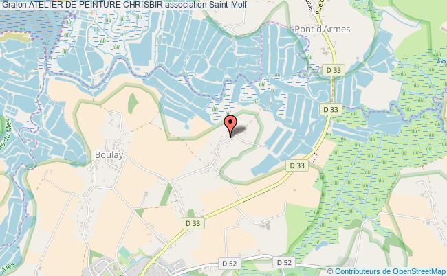 plan association Atelier De Peinture Chrisbir Saint-Molf