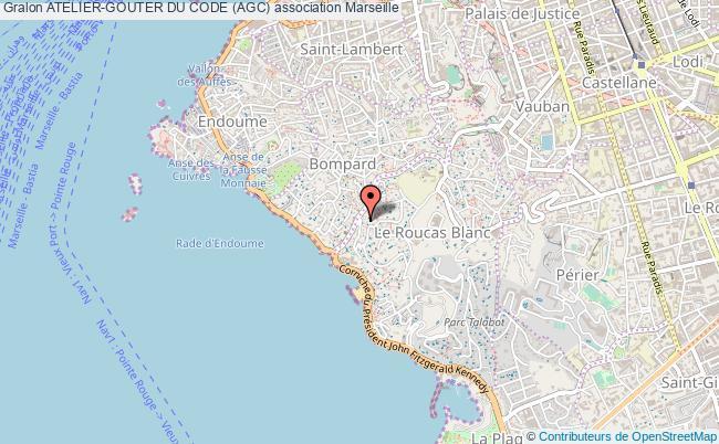 plan association Atelier-gouter Du Code (agc) Marseille