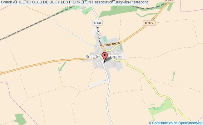 plan association Athletic Club De Bucy Les Pierrepont