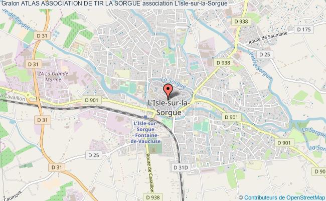 plan association Atlas Association De Tir La Sorgue