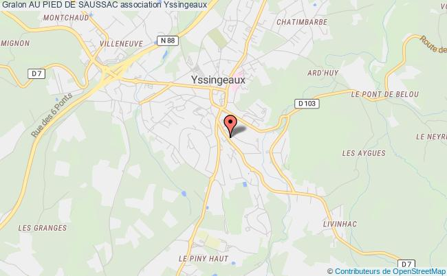 plan association Au Pied De Saussac Yssingeaux