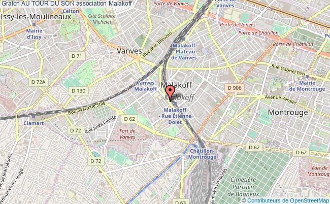 plan association Au Tour Du Son Malakoff