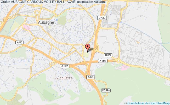 plan association Aubagne Carnoux Volley-ball (acvb)