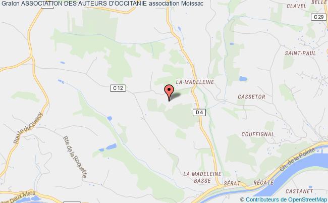 plan association Auteurs D'occitanie