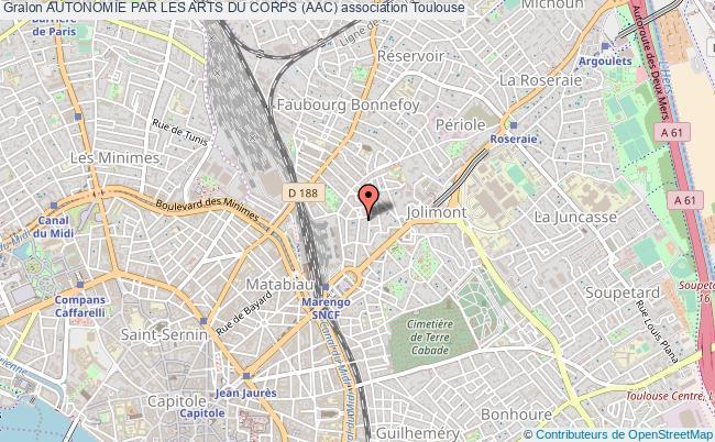 plan association Autonomie Par Les Arts Du Corps (aac)