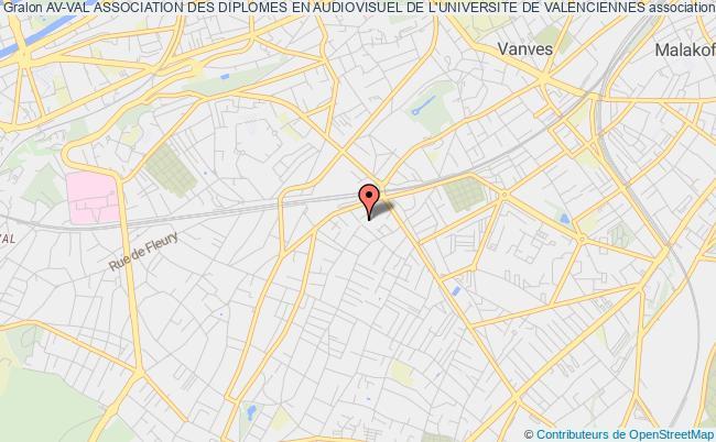 plan association Av-val Association Des Diplomes En Audiovisuel De L'universite De Valenciennes Malakoff