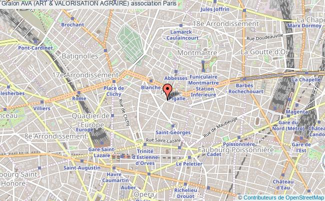 plan association Ava (art & Valorisation Agraire)