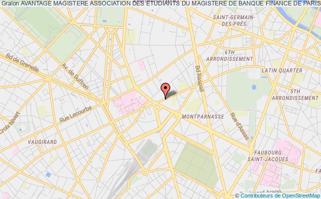 plan association Avantage Magistere Association Des Etudiants Du Magistere De Banque Finance De Paris 2 Paris 6e