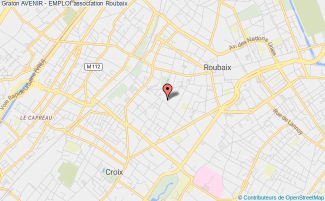 plan association Avenir - Emploi Roubaix