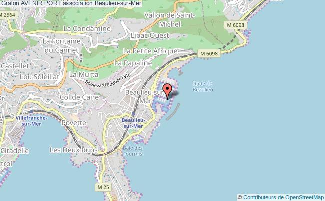 plan association Avenir Port