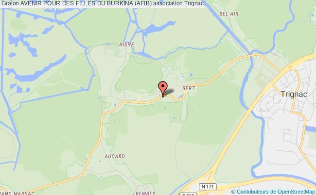 plan association Avenir Pour Des Filles Du Burkina (afib) Nantes