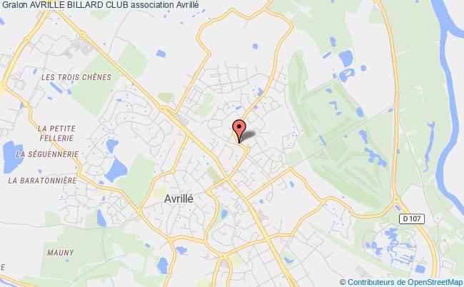 plan association Avrille Billard Club