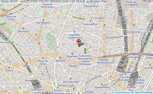 plan association Ayop - Associated Youth Operations For Peace
