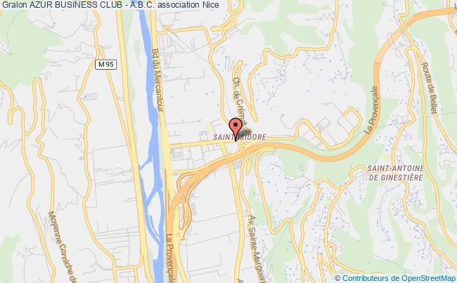 plan association Azur Business Club - A.b.c. Berre-les-Alpes