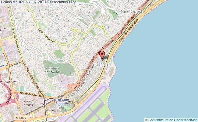plan association Azurcare Riviera Nice