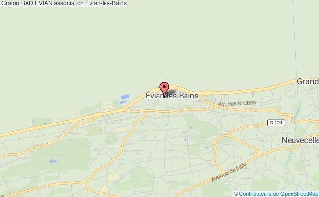 plan association Bad Evian