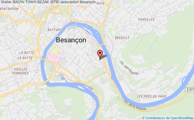 plan association Bad'in Town Bezak (btb)