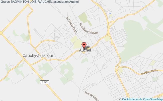 plan association Badminton Loisir Auchel