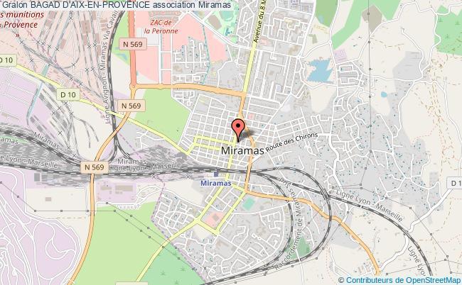 plan association Bagad D'aix-en-provence