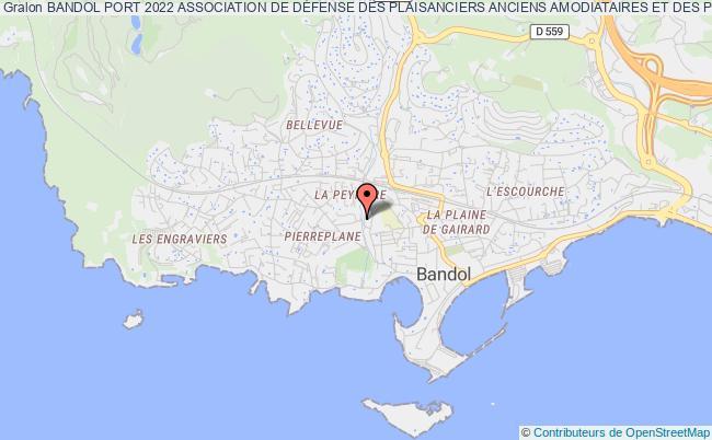 plan association Bandol Port 2022 ( Bp2022 )