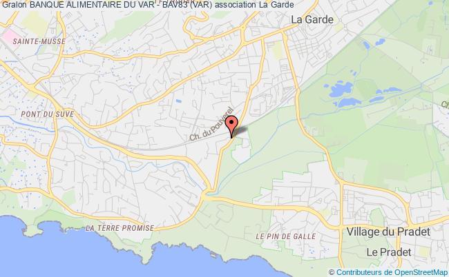 plan association Banque Alimentaire Du Var - Bav83 (var)