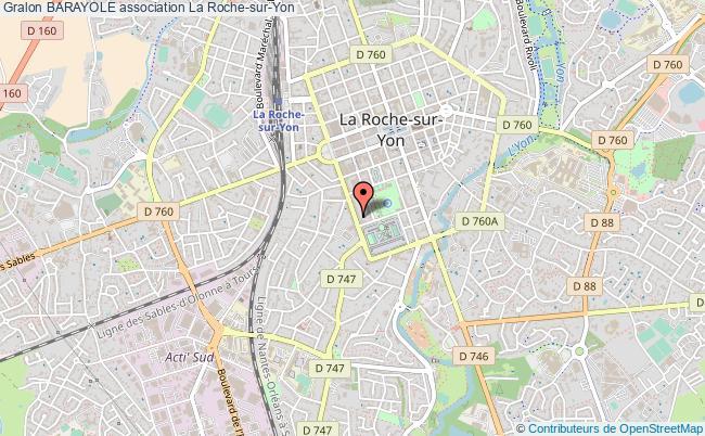 plan association Barayole La    Roche-sur-Yon