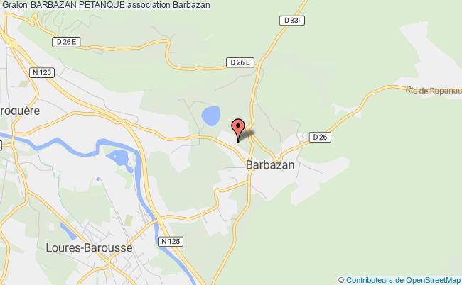 plan association Barbazan Petanque