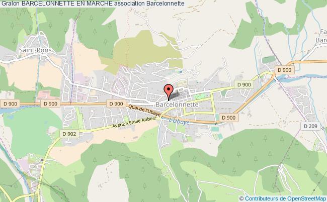 plan association Barcelonnette En Marche