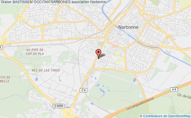 plan association Bastissem Occitan Narbones Narbonne