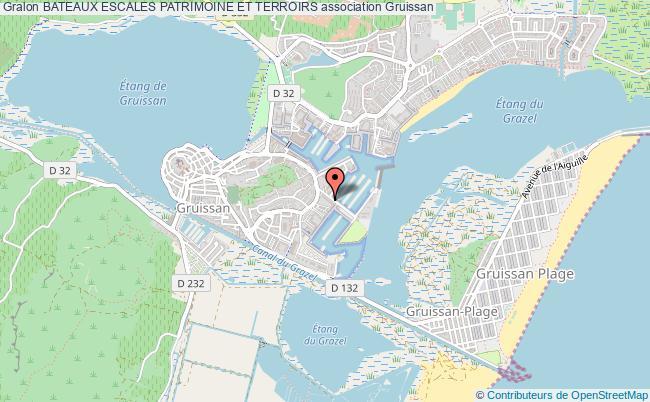 plan association Bateaux Escales Patrimoine Et Terroirs