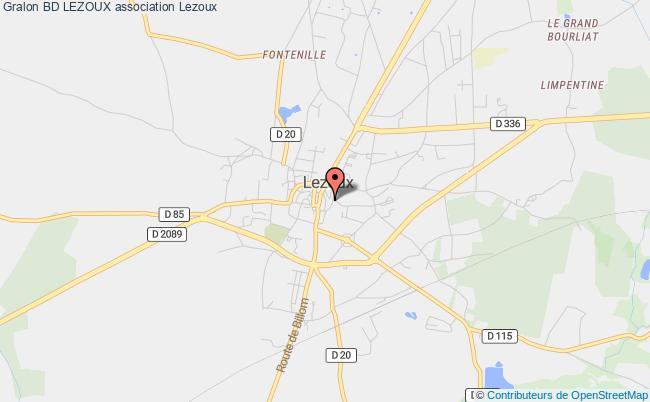 plan association Bd Lezoux Lezoux