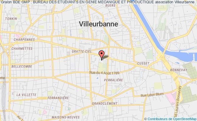 plan association Bde Gmp : Bureau Des Etudiants En Genie Mecanique Et Productique