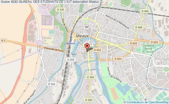 plan association Bdei Bureau Des Etudiants De L'iut
