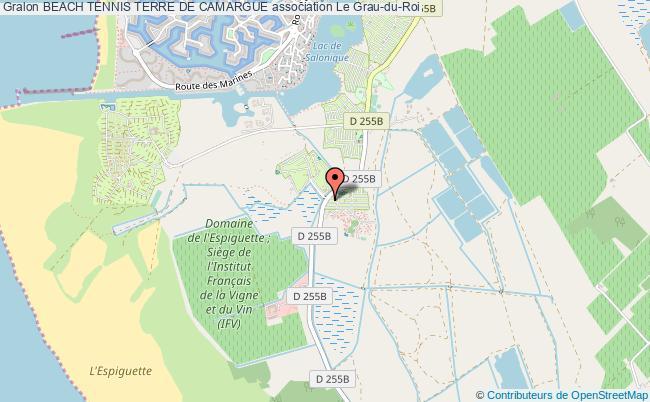 plan association Beach Tennis Terre De Camargue