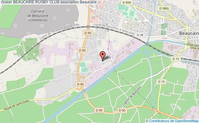 plan association Beaucaire Rugby Club