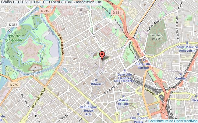 plan association Belle Voiture De France (bvf)