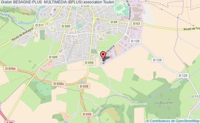 plan association Besagne-plus  MultimÉdia (bplus) Toulon