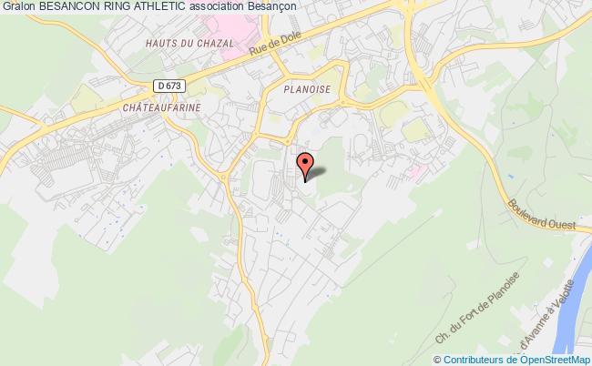 plan association Besancon Ring Athletic Besançon