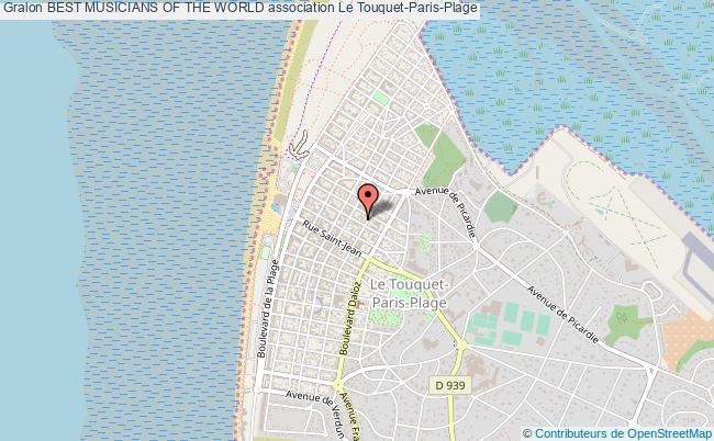 plan association Best Musicians Of The World Le Touquet-Paris-Plage