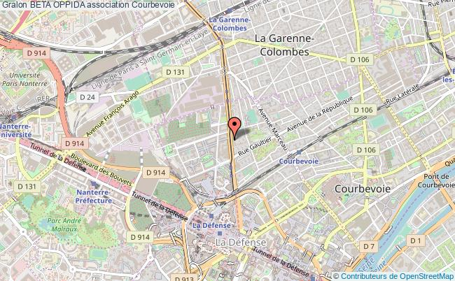 plan association Beta Oppida Courbevoie