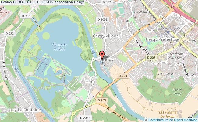 plan association Bi-school Of Cergy Cergy