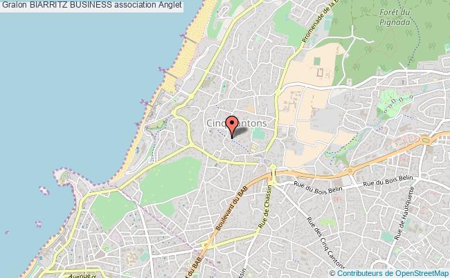 plan association Biarritz Business