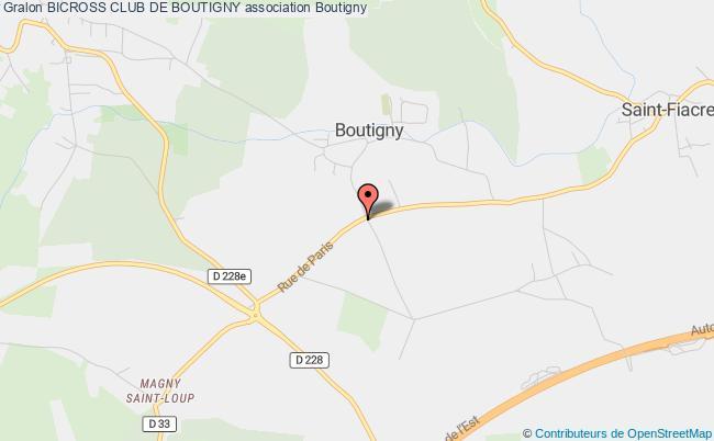 plan association Bicross Club De Boutigny
